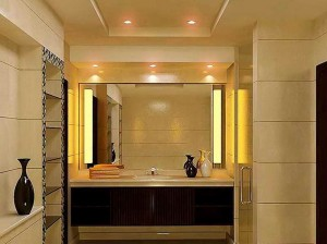 Powder-Room-Decorating-Ideas-at-Your-House-with-big-mirror
