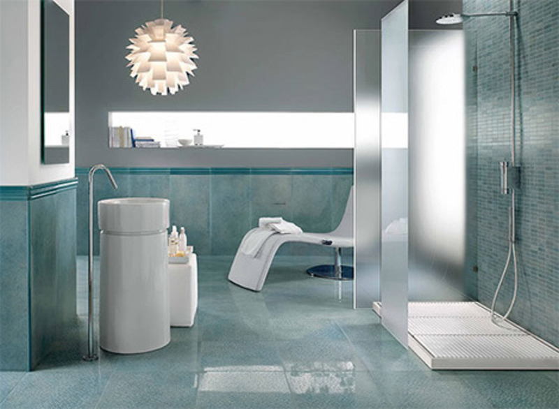 The best uses for bathroom tile i ibathtileinternational for Contemporary bathrooms