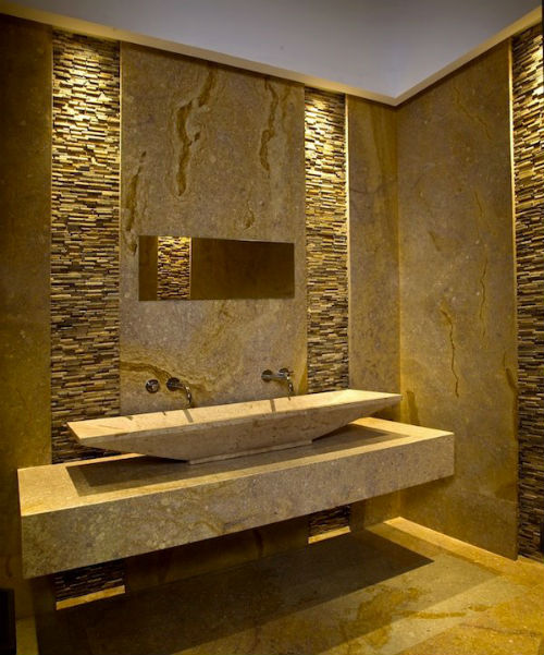 Photo Stone Tile Bathrooms Choice Of Eco Friendly Tiles I IbathtileInternational Bath And Tile
