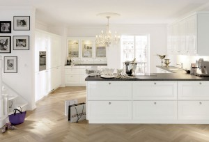 glamorous kitchen u2013 if your kitchen already has such as a beautiful chandelier then consider using glass or crystal hardware for your drawers and